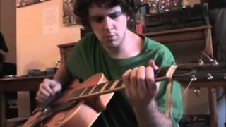 A.J. Herring at Apartment Music #20 improvisation