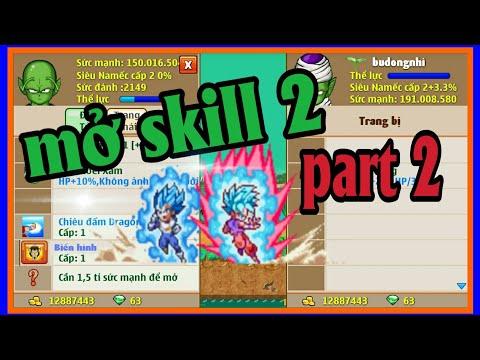 Ngọc Rồng Onlien - Mở skill2 cho ac nhi đồng gia đình dhvt đoàn tụ