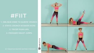 FIIT | 4 Moves For A Total-Body Tone-Up