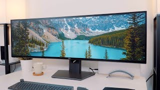 Hands-On With Dell's Massive 49-Inch 5K Ultrawide Display