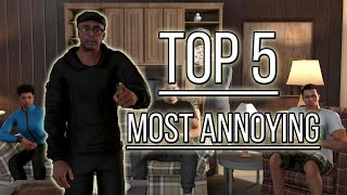 Top 5 Annoying Characters In NBA 2K History Ep. 2
