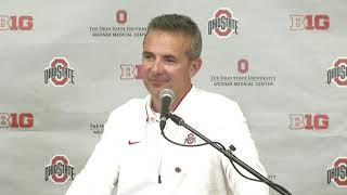 Urban Meyer talks about Ohio State's 49-6 win over Tulane