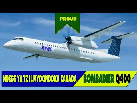 Tazama jinsi ndege ya Tanzania ilivyoondoka Canada