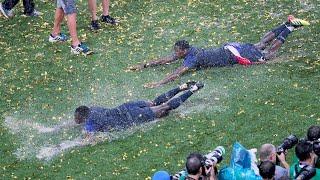 Как праздновала Сборная Франция Франция Чемпион ЧМ 2018