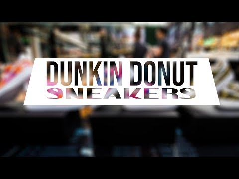 5454d5fe2ff Dont Mis this out !! | Collab Dunkin Donuts NL - Noize Custom | Handmade  Sneakers | FOR SALE