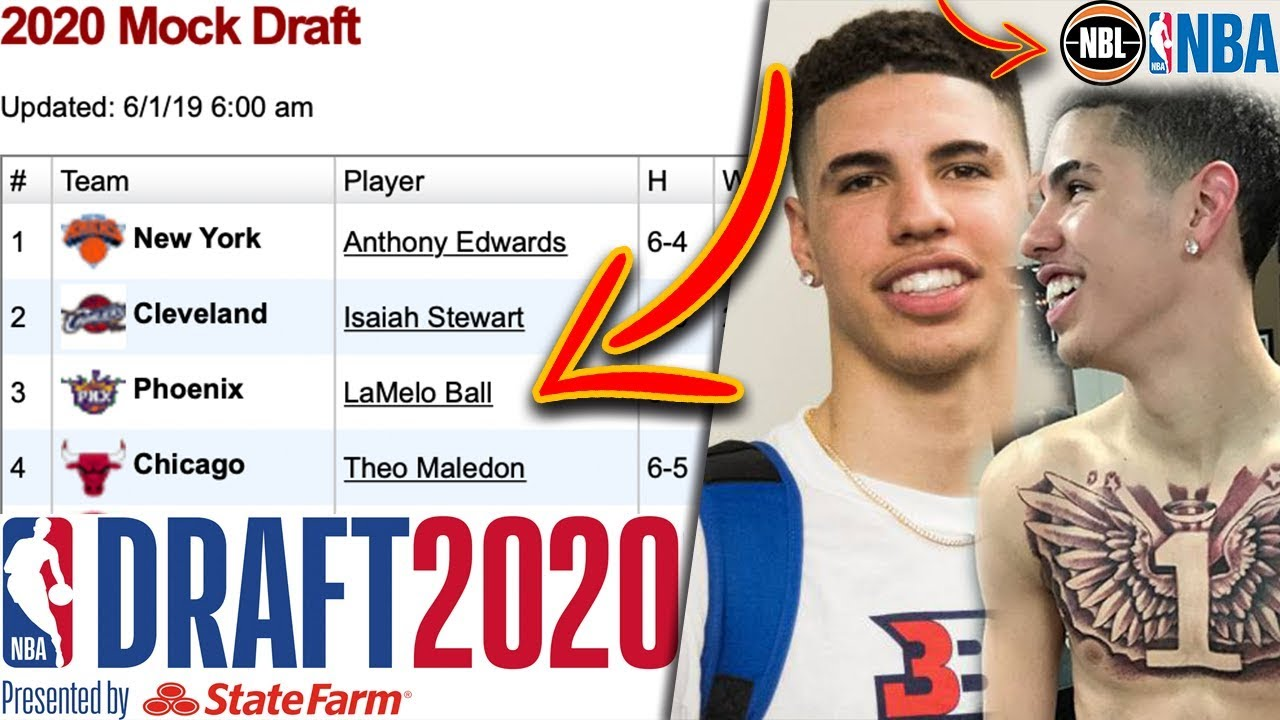 Lamelo Ball Now Projected Top 3 Nba Draft Pick With This Decision