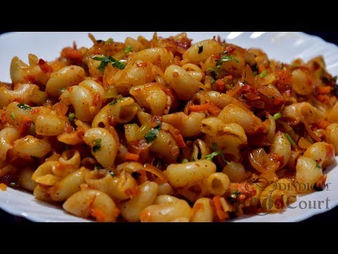 Pasta Recipe/ Indian Style Macaroni Pasta Recipe/ Lunch box recipe/Macaroni Recipe