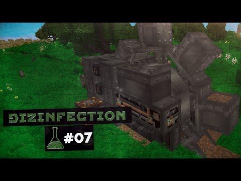 Minecraft 1.12.2 DizInfection #07 😈 Дизель Генератор и Экскаватор - Выживание с Модами