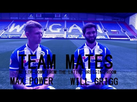 TEAM MATES: Max Power and Will Grigg