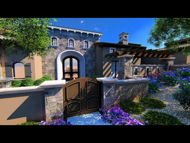 Fratantoni Designs latest home plans in Silverleaf - We call this Luxury Home the Montage