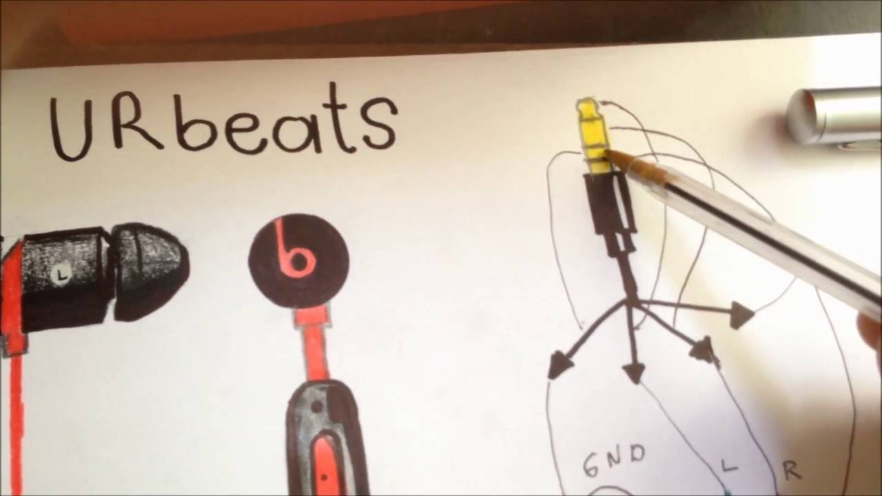 urbeats wire diagram for headphone jack replacement   51