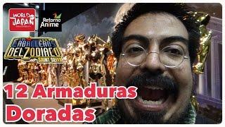 12 Armaduras de los Caballeros Dorados REALES! (30 Años Caballeros del Zodiaco/Saint Seiya)