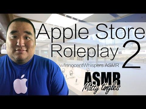 [ASMR] Apple Store Roleplay 2 (w/ InnocentWhispers ASMR) | MattyTingles