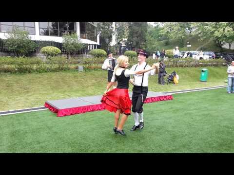 German dance with Accordion