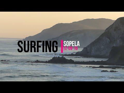 Surfing Sopela 12-9-16