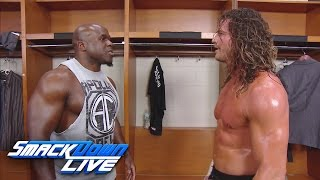 Dolph Ziggler starts a backstage brawl with Apollo Crews: SmackDown LIVE, Jan. 3, 2017