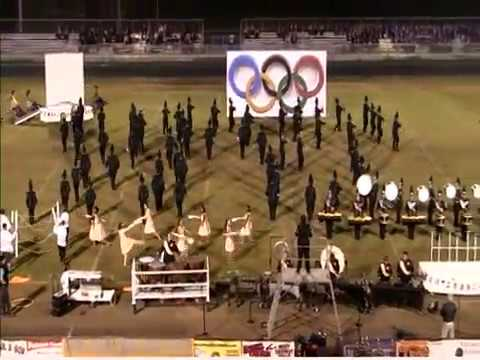 "East Davidson High School Marching Band 2016 ""Go For the Gold"""
