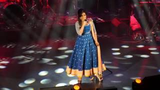 "Shreya Ghoshal sings  ""Tum Bin""  from Sanam Re,  London 2016"