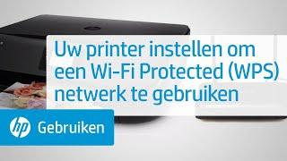 Uw printer instellen om een Wi-Fi Protected (WPS) netwerk te gebruiken