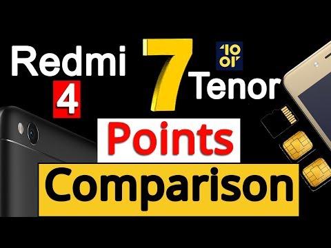 Redmi 4 VS Tenor E (10.or E) Comparison | Unbiased Opinion [Not Review]by Gizmo Gyan[Hindi हिन्दी]
