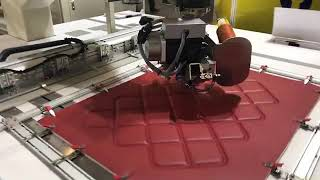 Richpeace Automatic Rotary head sewing machine for leather seat