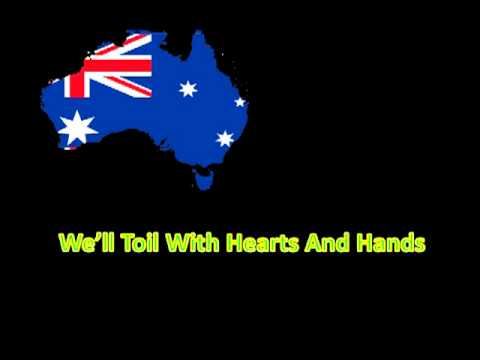 The  Full Version Of The Australian National Anthem With Lyrics