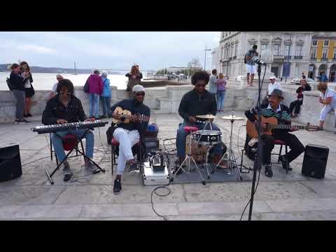 Street Jazz in Lisbon - Buskers in Lisboa