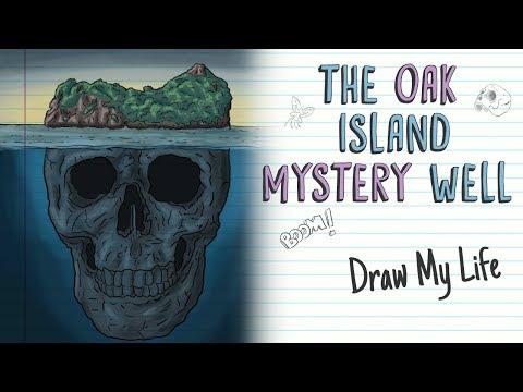 THE OAK ISLAND MYSTERY WELL | Draw My Life
