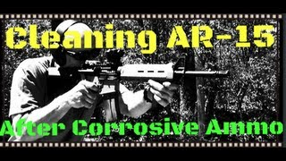 how to clean a 5 45x39 ar 15 after shooting corrosive ammo 7n6