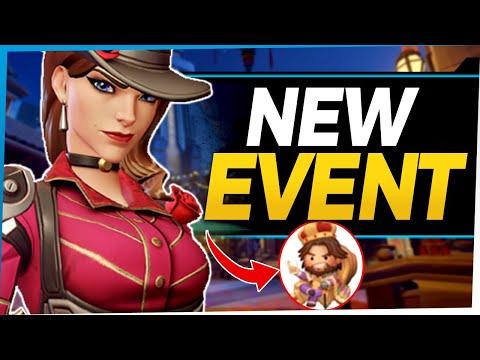 Overwatch New Event Leak - Ashe Mardi Gras Overwatch Event