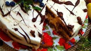 Самый вкусный Торт 2019! Торт без выпечки Тирамису рецепт за 15 минут.