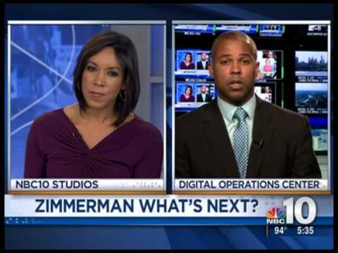 Zimmerman Trial Commentary WCAU TV 2013 07 15 5PM