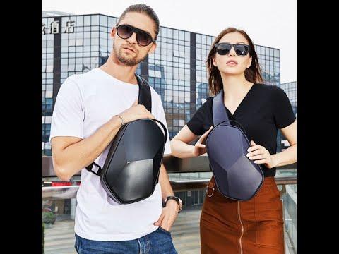 2020 Luxury Design Waterproof Anti Theft Unisex Cross body Sling Bag