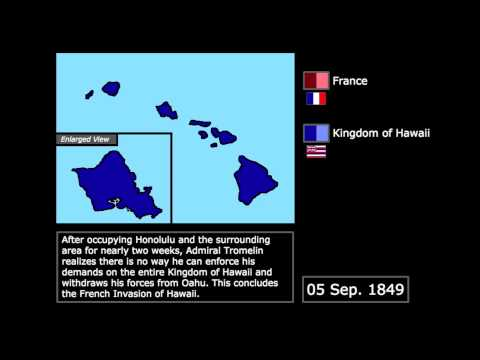 [Wars] The French Invasion of Hawaii (1849): Every Day