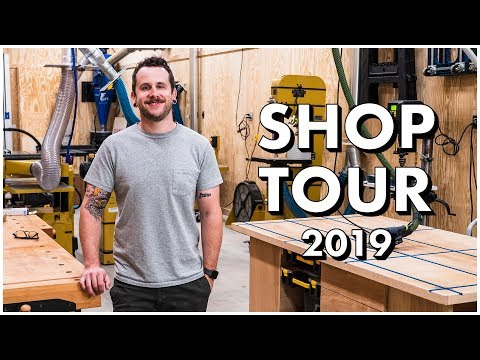 SHOP TOUR 2019, All of My Woodworking and Metalworking Tools!