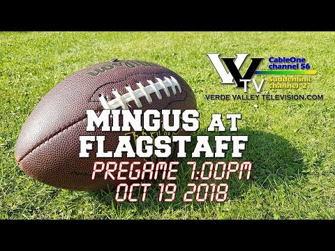 2018 Mingus Marauder Football: Game 9  at Flagstaff
