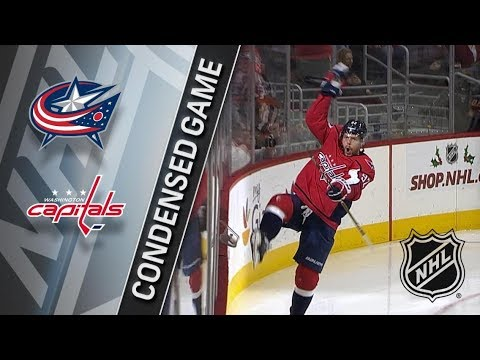 Columbus Blue Jackets vs Washington Capitals – Dec. 02, 2017 | Game Highlights | NHL 2017/18. Обзор