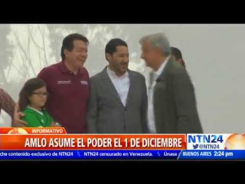 En nueve días Manuel López Obrador asume el poder presidencial en México