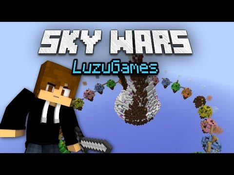 LA LUZADA DE CHOCOLATE! - SkyWars - [LuzuGames]