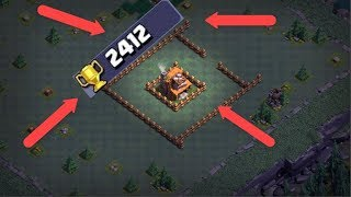 Crazy BH4 Trophy Base || Clash of Clans Builder Hall 4 Base Works at 2200+ Trophys