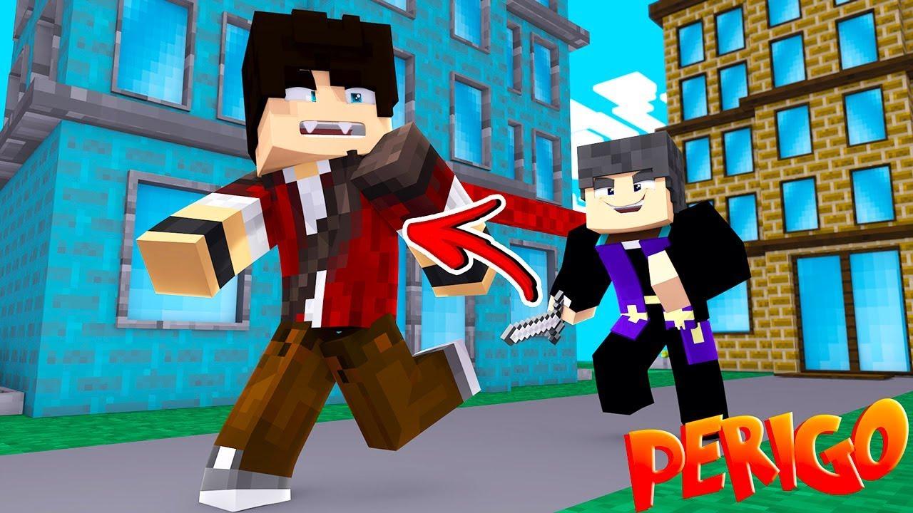 VIDA DE VAMPIRO - CAÇA A VAMPIROS !! - Minecraft ( 05/10 ) ‹ KIBOX ›