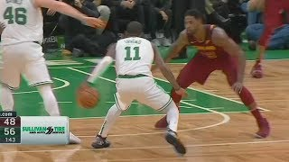 Kyrie Irving Fools & Hypnotizes Cavs Collin Sexton, Tristan Thompson! Celtics vs Cavaliers
