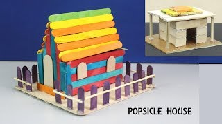 How to Make Easy Popsicle House #29 | DIY & Crafts for Kids