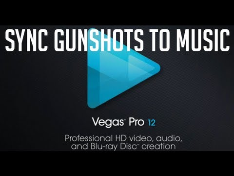 How to Sync Gunshots with Music - Sony Vegas 11 / 12 Voice Tutorial