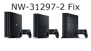 PS4 Error code NW-31297-2 Fix (HD)