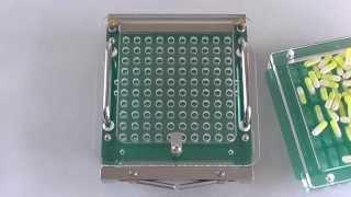 Ручной капсулятор на 100 капсул. Ориентация твёрдых желатиновых капсул.(, 2015-07-18T17:00:55.000Z)
