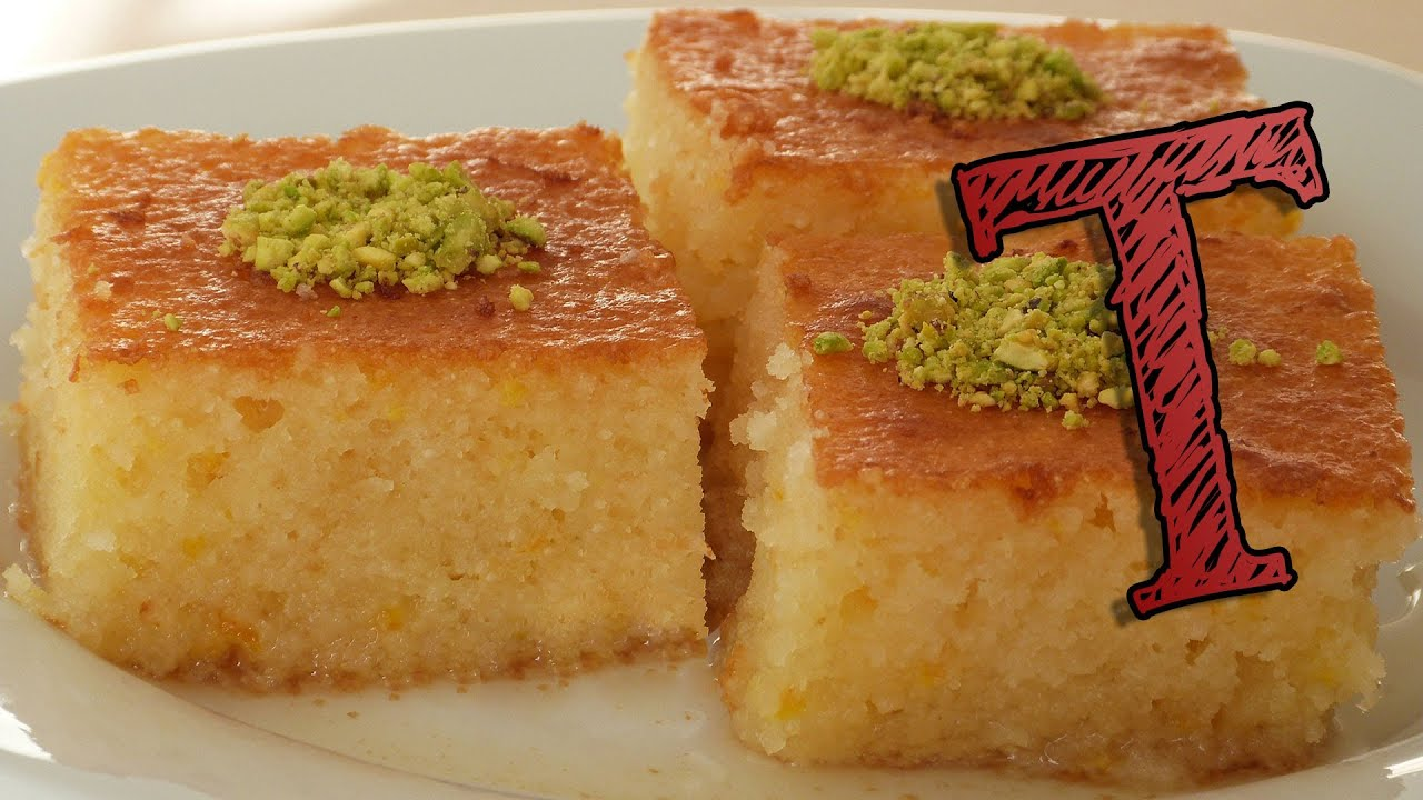 Basbousa recipe how to make revani youtube for Arda turkish cuisine