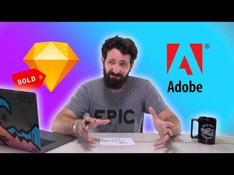Adobe bought Sketch?!