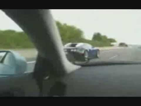 Veyron vs ssc aero drag race BBC top gear