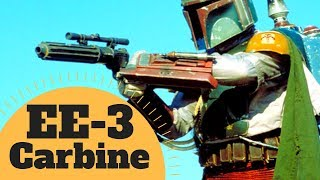 Boba Fett's Blaster Rifle - EE-3 Carbine Blaster Weapon Lore - Star Wars Canon & Legends Explained
